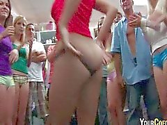 Booty Shaking And Pussy Eating College Sluts