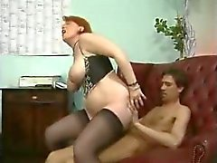 Big Tits Mature Double Penetration