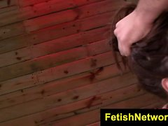 FetishNetwork Stella May sybian bondage