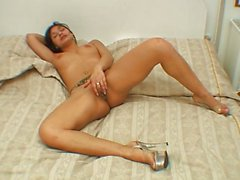 amateur, masturbation, fille solo, masturbation vaginale