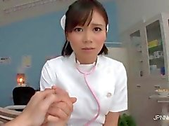 that asian nurse is so sexy and too hot