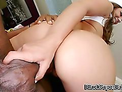 blowjob, brünett, hardcore, interracial