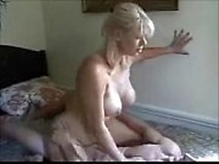 Amateur milf with younger boy