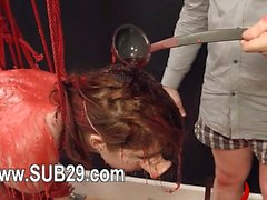 10-27-2016 - BDSM hardcore action with ropes and subtle sex