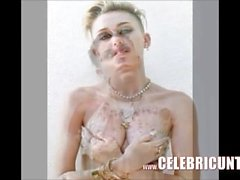Miley Cyrus Flaunting Her Tight Nude Body Again