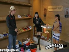 Burning Angel Emo Asian Anal Sex with Krissy Dee
