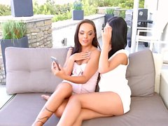 Sapphic Erotica presents Vivien Bell and Angelina Wild