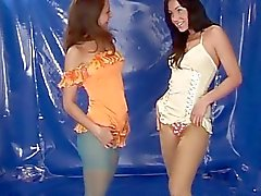 Ebony lesbian squirt toys and lesbians go hard Young lesbians in