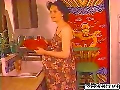 Interracial Pregnant sex from the 70s