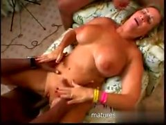 Grannys Interracial Cum Part 4