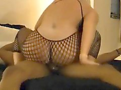 Blonde wife cheating her husband with a BBC