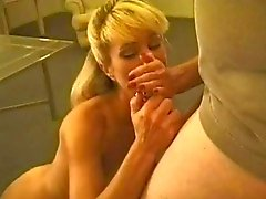 Hot MILF Smoking BJ