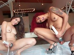 daisy ducati and ziggy star masturbating with hitachi