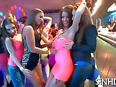Erotic and explosive swinger party with babes