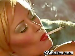 Awesome Girl Smoking Wild Porn