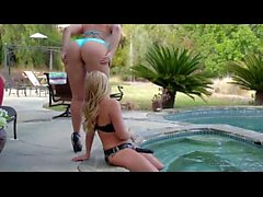 Alexis Texas and AJ Applegate - lesbian strapon big ass