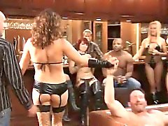 Swinger couples makes hot lingerie party in XXX reality show