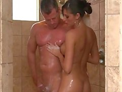 Massages all start in the shower for all the clients