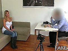 Sizzling sexy job interview