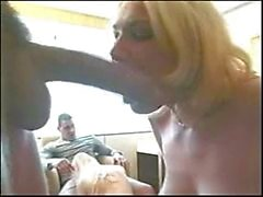 Sara Brandy Canyon in deep throating orgy