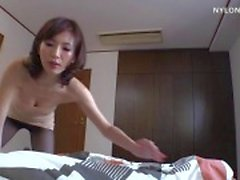skinny woman pantyhose blowjob nylon sex