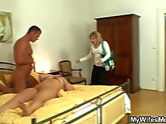 My wife is pissed off, I just fucked her mom