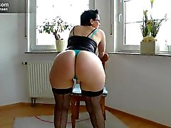 sologirl, amateur, big ass, deutsch, milf