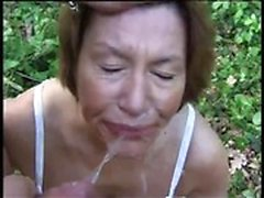 Hong from onmilfcom - Mature outdoor