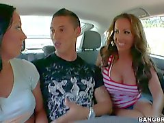 Amber Rayne Richelle Ryan and Tiffany Brookes are cock hungry