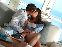 Erotic Sex Scene With A Divine Brunette Hair Dana Dearmond