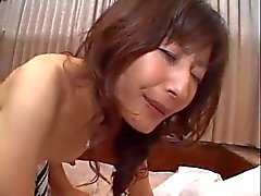 Mature Japanese whore gets screwed hard in the ass