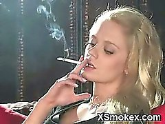 Explicit Smoking Girl Hungry XXX