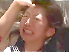 Schoolgirl Dominated Spanked Getting Bondaged Tits Tortured Kissed By Woman In The Room