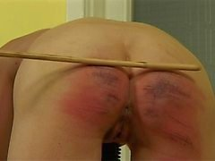 Hard Caned Girl 10
