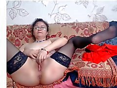 Mature in glasses webcam 05 04 2015