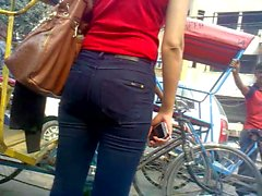 indian girle jeans ass gand