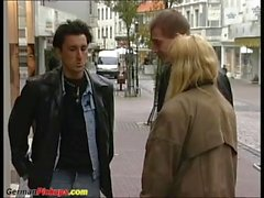 german couple picked up for threesome fuck