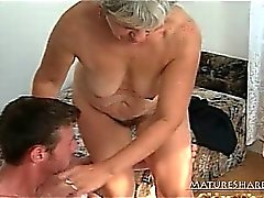 Granny Knows How To Give A Cock Sucking