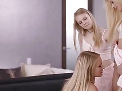 Scarlett Sage Lily Rader And Elsa Jean - Blondes Have More Fun