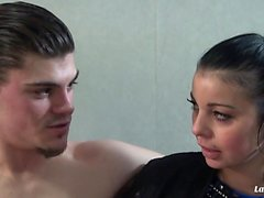 LA NOVICE - Slutty French newbie gets pussy and ass fucked