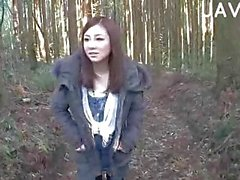 Hot Asian Slut Fingered In Public