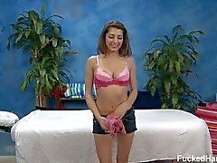 Lexi gets fully nude to enjoy massage