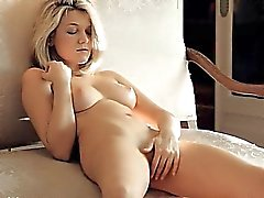 sweet blond with natural tits