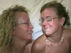 Busty chubby amateur girlfriend anal gangbang with facials
