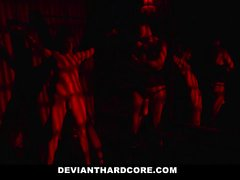 DeviantHardcore - Dom Femme Dominates her Male Pet