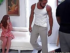 Maddy OReilly Gets Double Dicked By Black Men