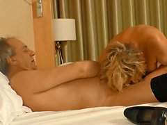 XXXOMAS - Slutty German mature pounded by hard cock