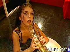 Bukkake sluts from Germany getting doused and fucked in gangban