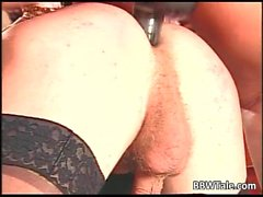 German group action where BBW slut get