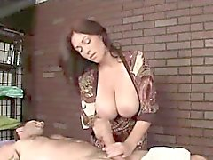 Tatted massage turns nasty